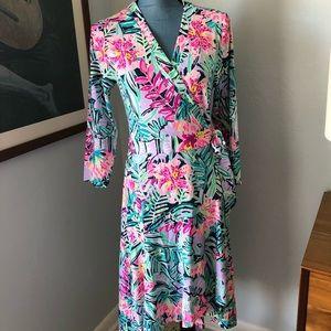 NWT Lilly Pulitzer Rozaline Wrap Dress M